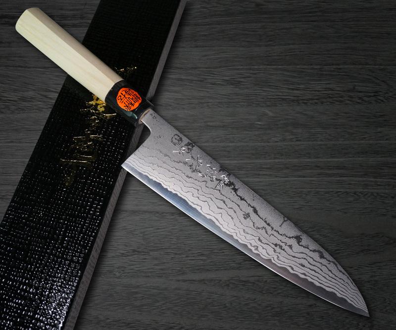 Shigeki Tanaka Aogami No.2 Damascus WHM