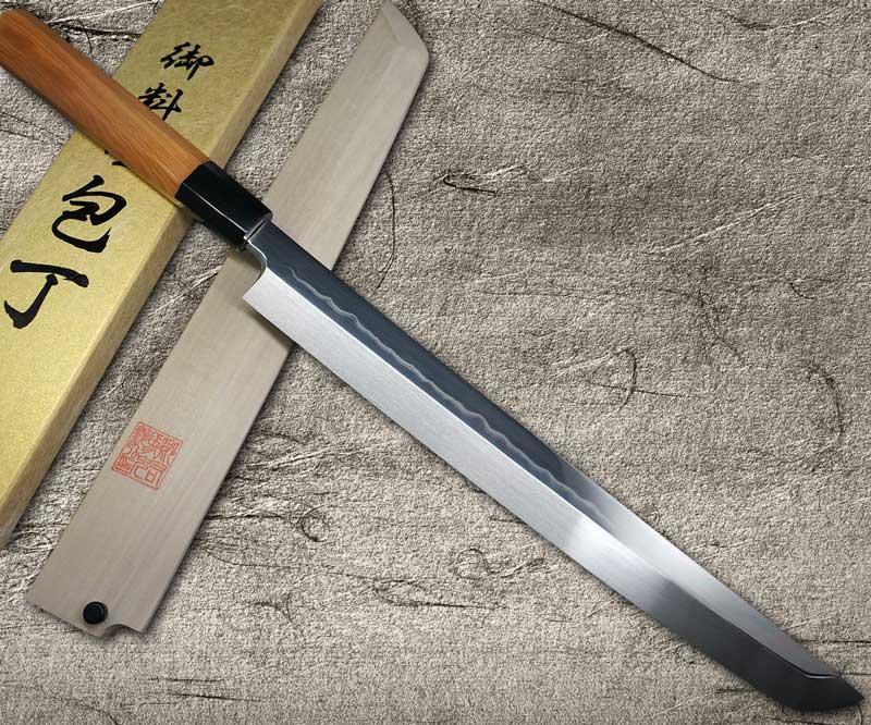 Goh Umanosuke Yoshihiro Honyaki Shirogami 2