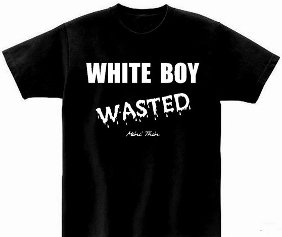 White Boy Wasted Tee