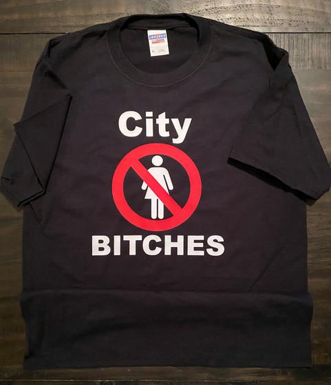 Mini Thin NO city bitch t- shirt