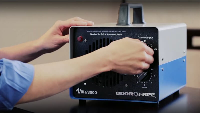 Ozone Generator Machines for Odor Removal at OdorFree