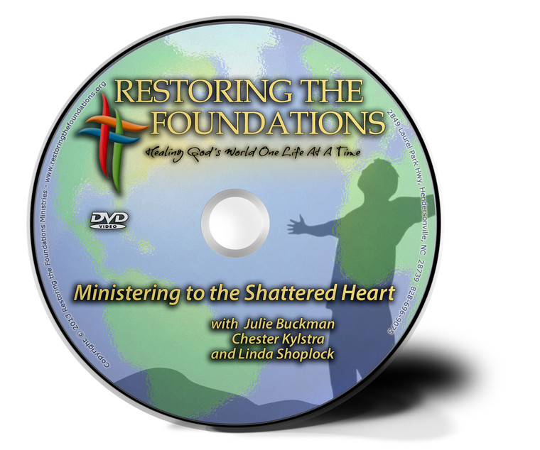 Ministering to the Shattered Heart DVD