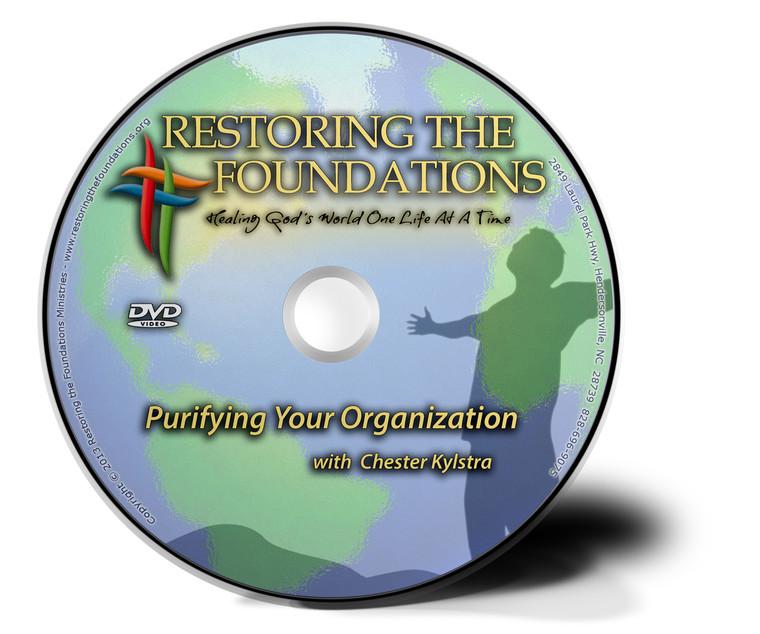 Purifying Your Organization DVD