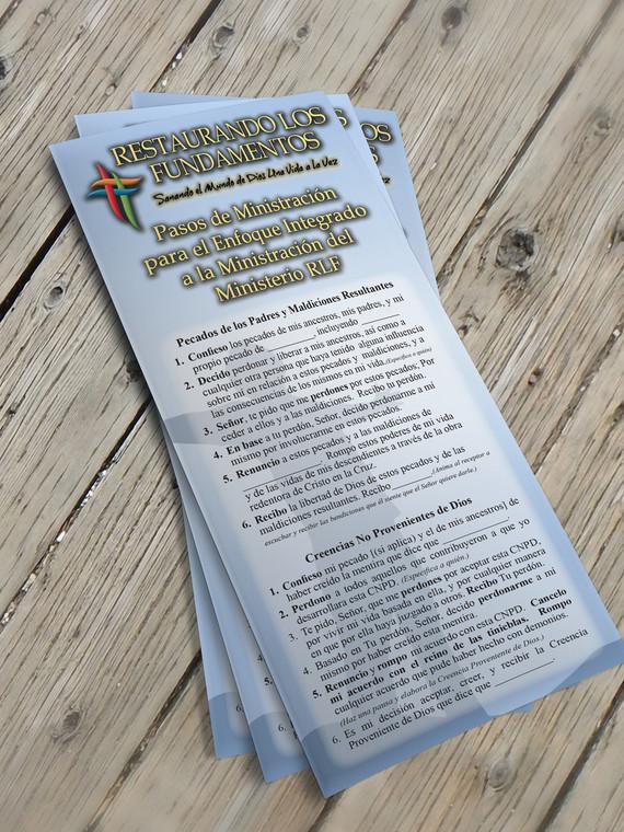 Spanish Language Edition Ministry Card