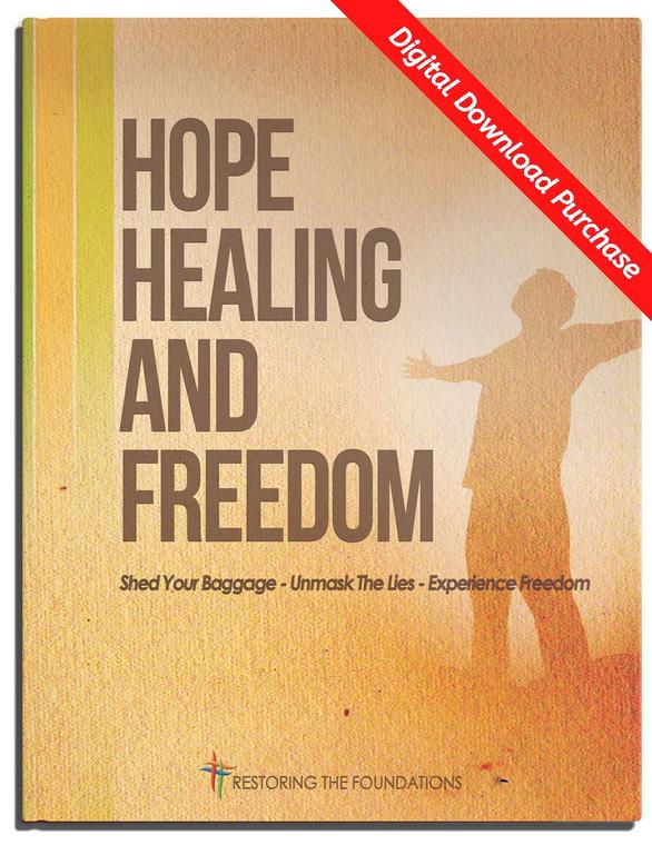Hope Healing and Freedom Seminar Workbook  - Downloadable & Printable