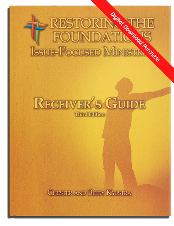 Receiver's Guide for RTF Issue-Focused Ministry  - Digital Version