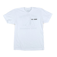 Surf Whenever Tee - White
