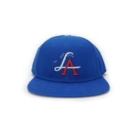 LA Wave Snapback - Field Blue