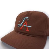 LA Wave Spectrum Snapback - Cinnamon