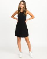 Linked Tank Dress - Black