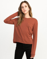 Pinner All The Way LS Tee - Henna