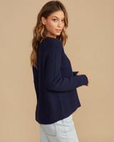 Case Sweater - Navy