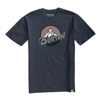 Retro Mountain Tee - Mood Indigo