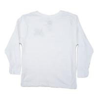 Toddler OG Logo Full Color LS Tee - White