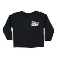 Toddler Valley Original LS Tee - Black
