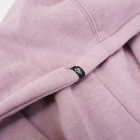 Volcom Need to Vent Hoodie in Violet Dust color labeling detail