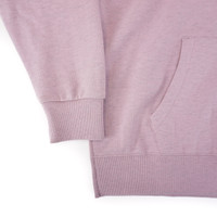 Volcom Need to Vent Hoodie in Violet Dust color cuff detail