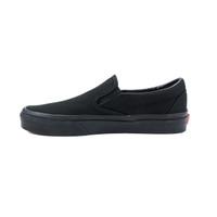 Vans Classic Slip On in Black Black color side view