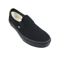 Vans Classic Slip On in Black Black color 3/4 view