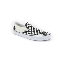 Classic Slip-On - Black/White/Checkerboard
