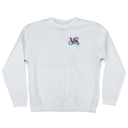 OG Full Color Crew - White