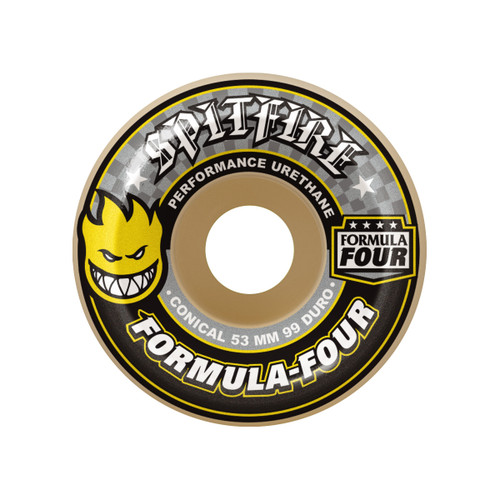 Formula Four Conical 99D - Yellow Print - 52
