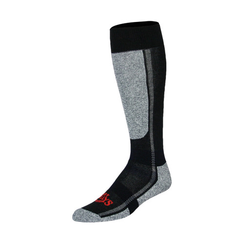 Classic Mid Volume Socks - Black Heather