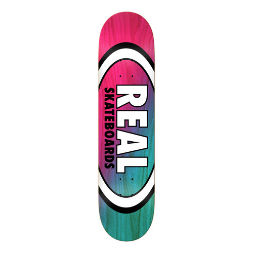 Team Angle Dipped Oval - Red/Light Blue - 8.5