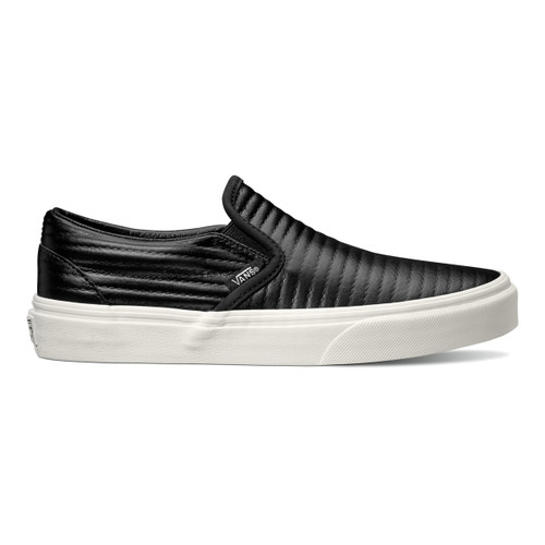 Classic Slip-On (Moto Leather) - Black
