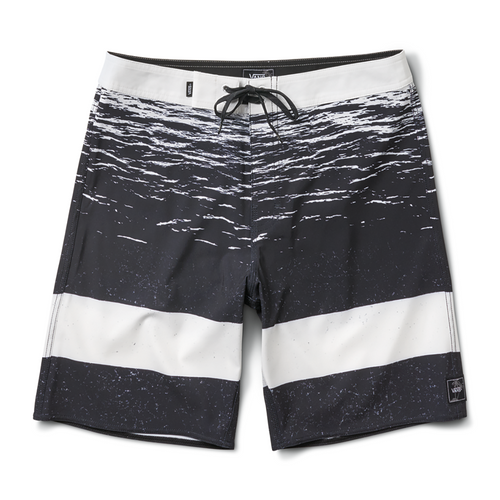"Era Boardshort 19"" - White Dark Water"