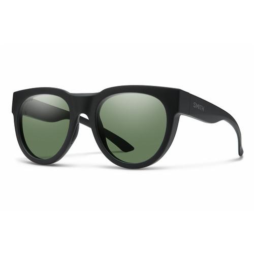 Crusader - Matte Black - Chromapop Polarized Gray Green