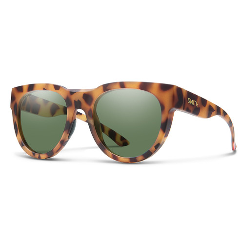 Crusader - Matte Honey Tortoise - ChromaPop Polarized Gray Green