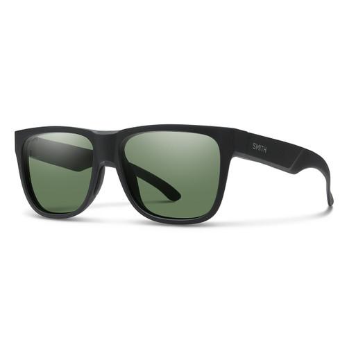 Lowdown 2 - Matte Black - Chromapop Polarized Gray Green