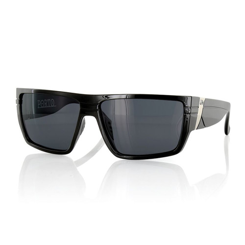 Porto Polarized - Matte Black - Grey Polarized