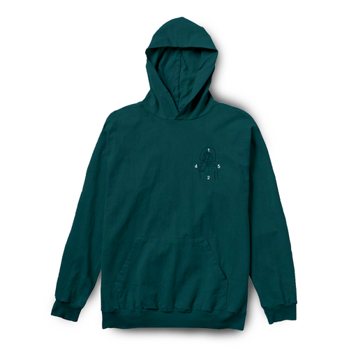 12:45 Angel Jersey Pullover - Deep Turquoise
