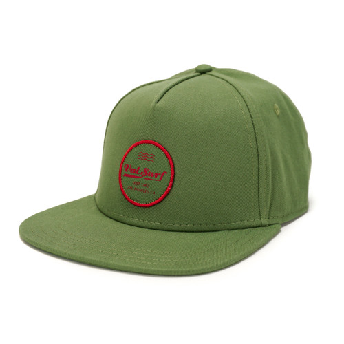 Coldwater Snapback - Avocado/Black - O/S