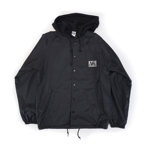 Coach Windbreaker w/Hood - Black