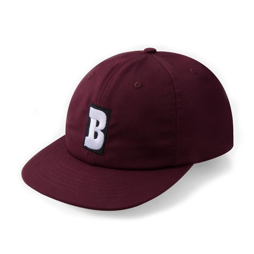 Capital B Snapback - Maroon