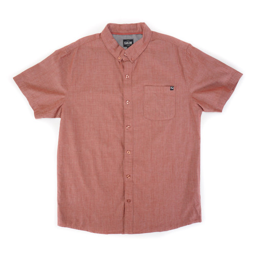 Coastal Woven Shirt - Red