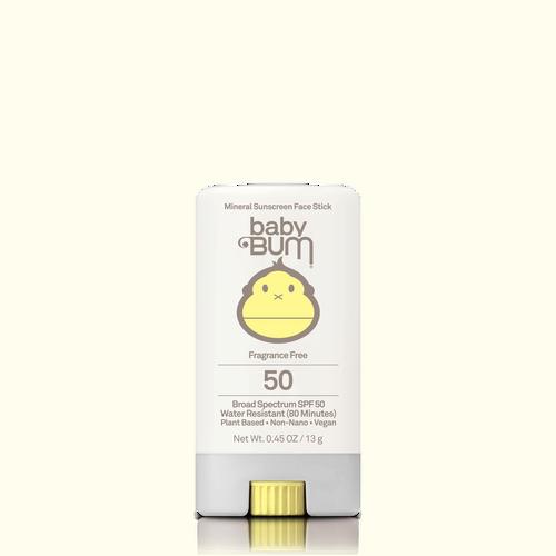 SPF 50 BabyBum Face Stick - .45oz