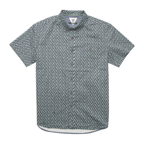 Staggered Woven - Dark Naval
