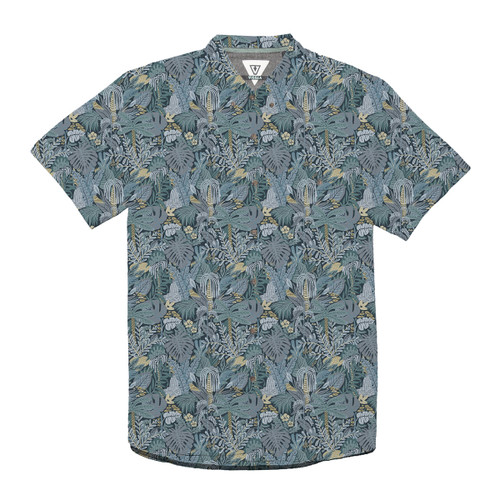 Tropical Maui Boys Woven - Teal