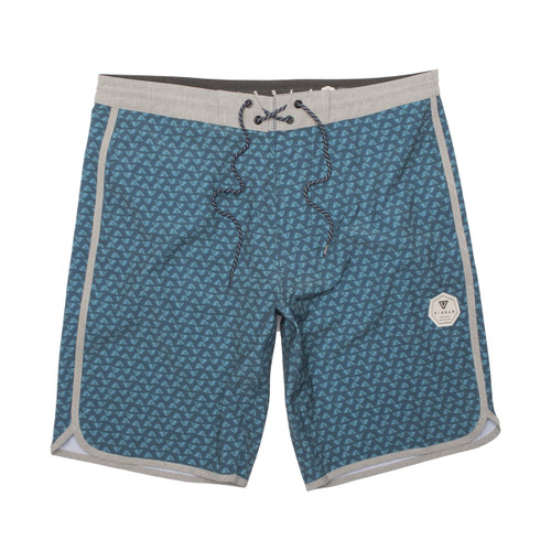 "Staggered 17"" Boys Boardshort - Dark Naval"