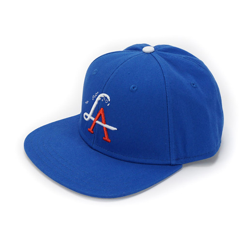 LA Wave Snapback - Field Blue