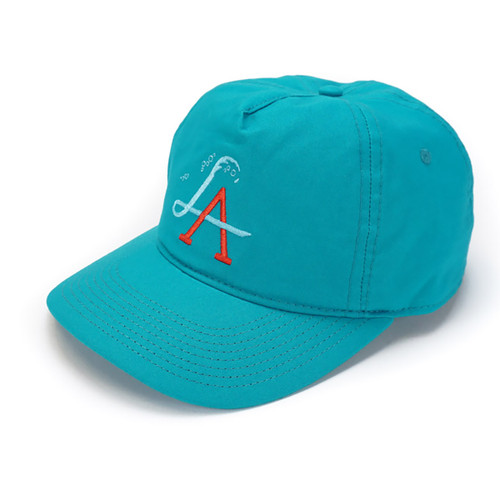 LA Wave Spectrum Snapback - Teal