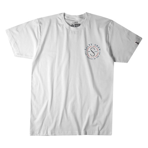 Arched Tee - White