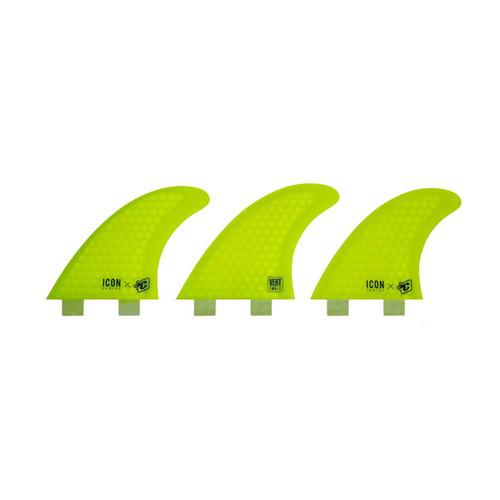 Vert Icon Core Flex 2-Tab S - Yellow - S