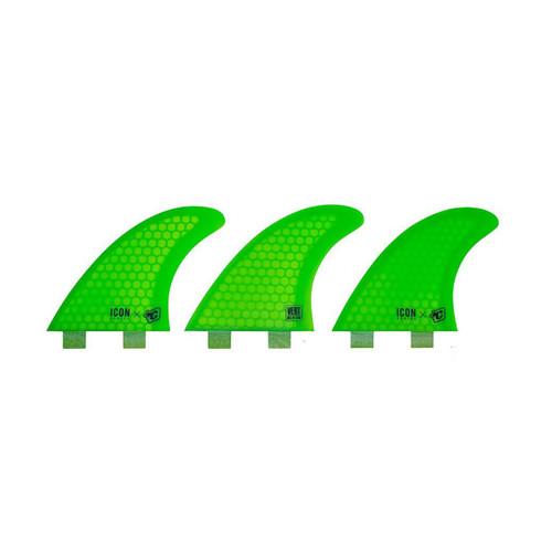 Vert Icon Core Flex 2-Tab M - Lime - M