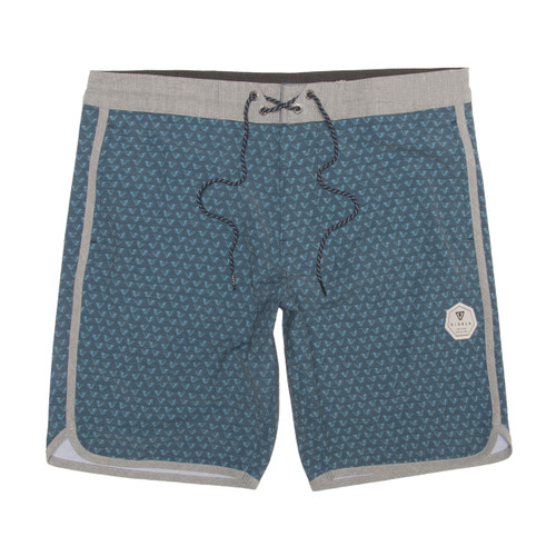"Staggered 20"" Boardshort - Dark Naval"