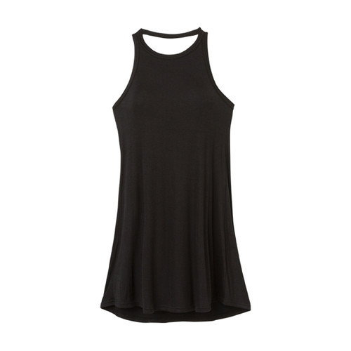 Linked Tank Dress - Black